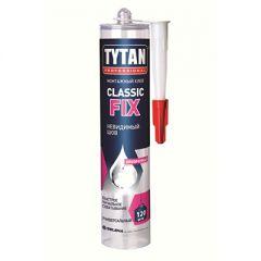 Клей монтажный каучуковый Tytan Professional classic fix прозрачный 310 мл