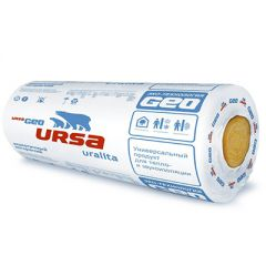 Теплоизоляция Ursa GEO М-11 10000х1200х50 мм 2 шт