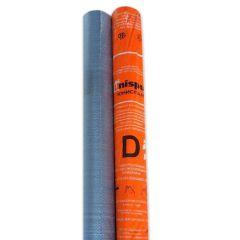 Мембрана строительная Unispun D серая 1,5х46,67 м