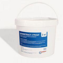 Звукоизоляция грунтовочная Шумопласт-грунт масса для покрытия 3 кг