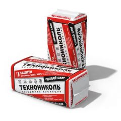 Базальтовая вата Технониколь Технолайт Оптима 1200х600х50 мм 12 шт (8,64 м2)