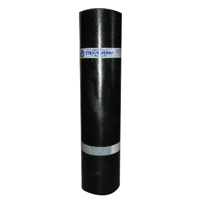 Рулонная гидроизоляция Оргкровля Стеклоизол П 2,5 (Т) 1х10 м (10 м2)