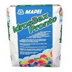 Гидроизоляция цементная Mapei Idrosilex Pronto серый 25 кг