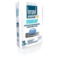 Гидроизоляция обмазочная Bergauf Hydrostop цементная 20 кг