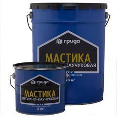 Мастика битумно-каучуковая Грида МГХ-К 20 л