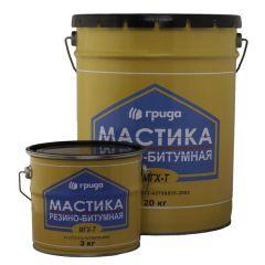 Мастика резино-битумная Грида МГХ-Т 20 кг