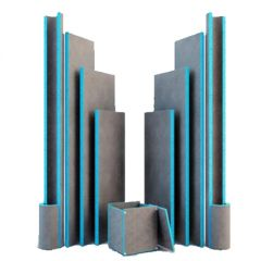 Панель Teplofom+ 10 XPS односторонняя 2500х600х10 мм (1,5 м2)