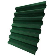 Профнастил оцинкованный С21 Зеленый 3000х1050х0,4 мм
