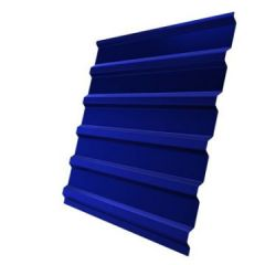 Профнастил оцинкованный С21 Синий 3000х1050х0,4 мм