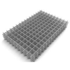 Сетка сварная кладочная в картах, оцинкованная 55х55х2,5 мм 0,5х2м