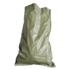 Мешок полипропиленовый зеленый 50х90 см