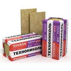 Базальтовая вата Технониколь Техноблок Стандарт 1200х600х110 мм 3 шт (2,16 м2)