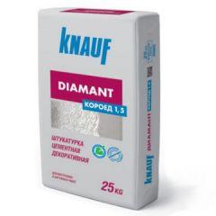 Штукатурка Кнауф Диамант Короед зерно 1,5 мм 25 кг