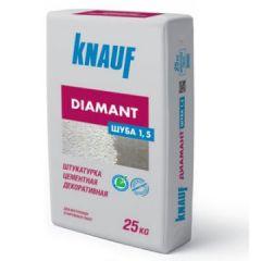 Штукатурка Кнауф Диамант Шуба зерно 1,5 мм 25 кг