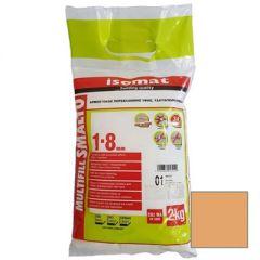 Затирка полимерцементная Isomat Multifill Smalto 1-8 23 Орегон 2 кг