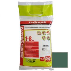 Затирка полимерцементная Isomat Multifill Smalto 1-8 36 Кипарис 2 кг