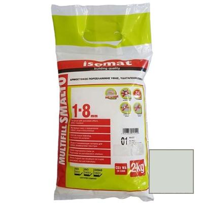 Затирка полимерцементная Isomat Multifill Smalto 1-8 15 Манхеттен 2 кг