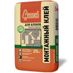 Монтажный клей Старатели для блоков тонкослойный 25 кг