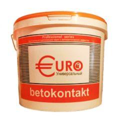 Грунтовка адгезионная Гермес Euro Бетоноконтакт универсальный 10 л