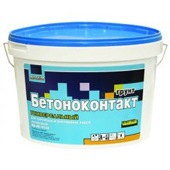Грунтовка Cover Бетоноконтакт универсальная 6 кг