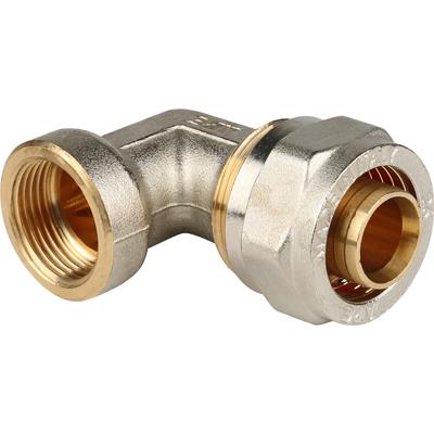 Угольник-переходник винтовой Stout с внутренней резьбой 26 мм х 3/4 (SFS-0007-003426)