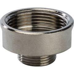 Муфта переходная Stout внутр.-нар. резьба никелированная 1 1/4 х 3/4 (SFT-0008-011434)