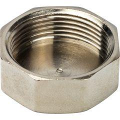Заглушка Stout с внутренней резьбой никелированная 1 1/4 (SFT-0027-000114)