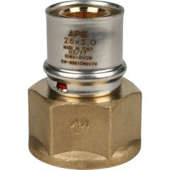 Переходник запрессовочный Stout с внутренней резьбой 26 мм х 1 (SFP-0002-000126)