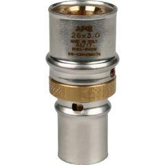 Муфта запрессовочная соединительная Stout переходная 20 х 26 мм (SFP-0004-002620)