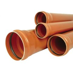 Труба Солекс ПВХ 110х3,2х3000 мм