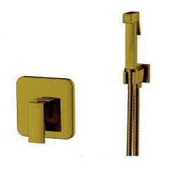 Смеситель Kern для ванны с гигиеническим душем бронза 4025 Bronze