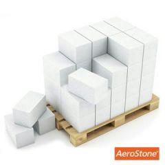 Блок из ячеистого бетона Aerostone газосиликатный D600 625х200х300 мм 1 м3