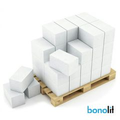 Блок из ячеистого бетона Bonolit Грас D500 газосиликатный 200х300х625 мм 1 м3