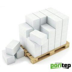 Блок из ячеистого бетона Portiep газосиликатный D500 625х250х100 мм 1 м3