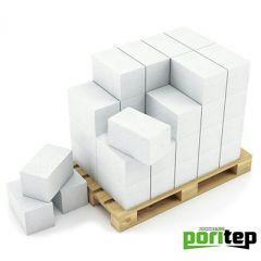 Блок из ячеистого бетона Portiep газосиликатный D500 625х250х500 мм 1 м3