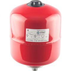 Расширительный бак Stout красный 8 л (STH-0004-000008)