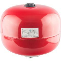Расширительный бак Stout красный 24 л (STH-0006-000024)