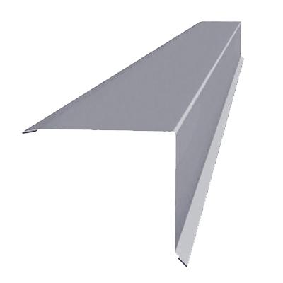 Торцевая планка Тритон 2000х100 мм оцинкованная