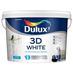Краска водно-дисперсионная Dulux 3D White BW 5 л