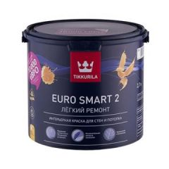 Краска Tikkurila Euro-2 2,7 л