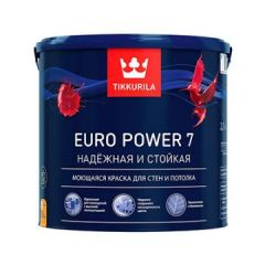 Краска Tikkurila Euro Power 7 A 2,7 л