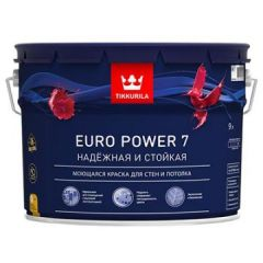 Краска Tikkurila Euro Power 7 A 9 л