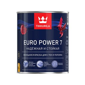 Краска Tikkurila Euro Power 7 C 0,9 л