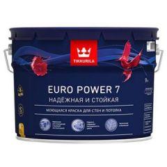 Краска Tikkurila Euro Power 7 C 9 л