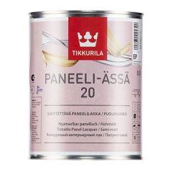 Лак Tikkurila Paneeli Assa EP 20 полуматовый 0,9 л
