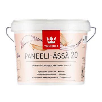 Лак Tikkurila Paneeli Assa EP 20 полуматовый 2,7 л