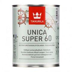 Лак Tikkurila Unica Super EP 60 полуглянцевый 0,9 л