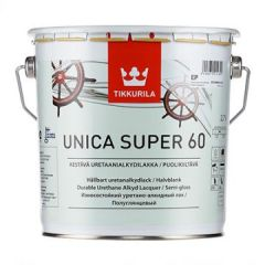 Лак Tikkurila Unica Super EP 60 полуглянцевый 2,7 л
