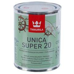 Лак Tikkurila Unica Super EP 20 полуматовый 0,9 л