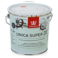 Лак Tikkurila Unica Super EP 20 полуматовый 2,7 л